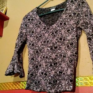 Super cute shirt with bling